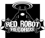 RED ROBOT LOGO bw