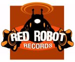 red robot logo orange